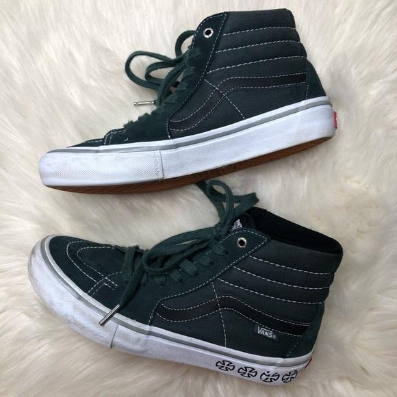 Mens Vans X Independent Sk8hi Pro Shoes